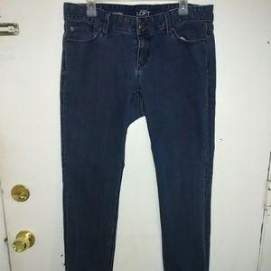 Ann Taylor LOFT curvy straight jeans.